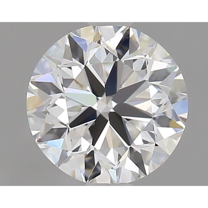 1.01 Carat Round Loose Diamond, F, IF, Excellent, GIA Certified
