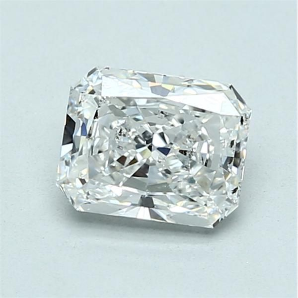 0.94 Carat Radiant Loose Diamond, G, SI2, Excellent, GIA Certified