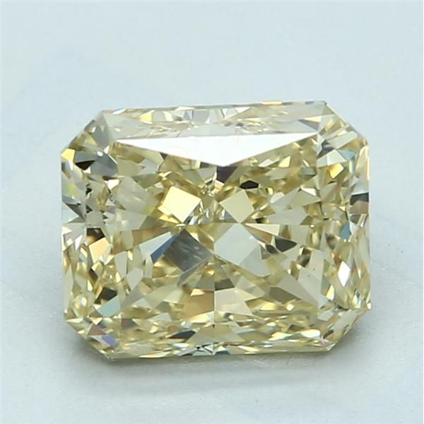 3.03 Carat Radiant Loose Diamond, FBY FBY, VS1, Ideal, GIA Certified