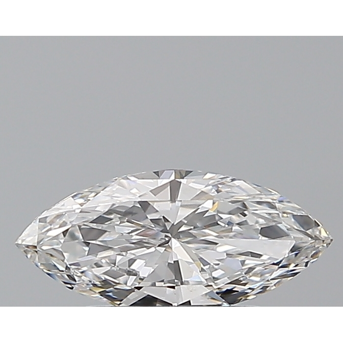 0.57 Carat Marquise Loose Diamond, D, VVS2, Super Ideal, GIA Certified