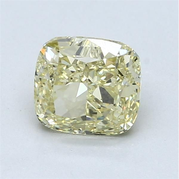 1.30 Carat Cushion Loose Diamond, FY FY, SI1, Ideal, GIA Certified