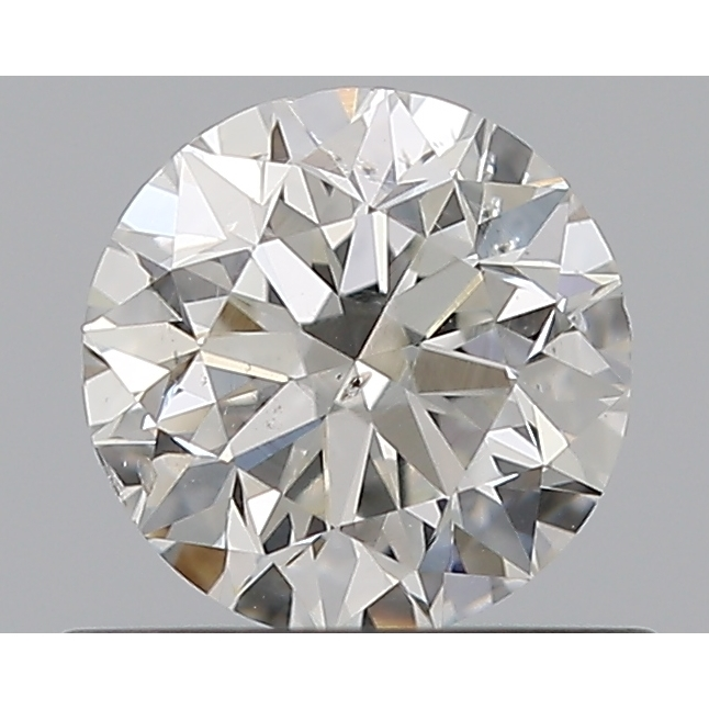 0.50 Carat Round Loose Diamond, G, SI2, Excellent, GIA Certified
