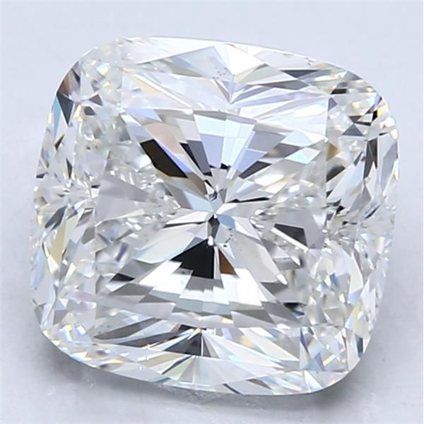 5.01 Carat Cushion Loose Diamond, F, VS2, Excellent, GIA Certified
