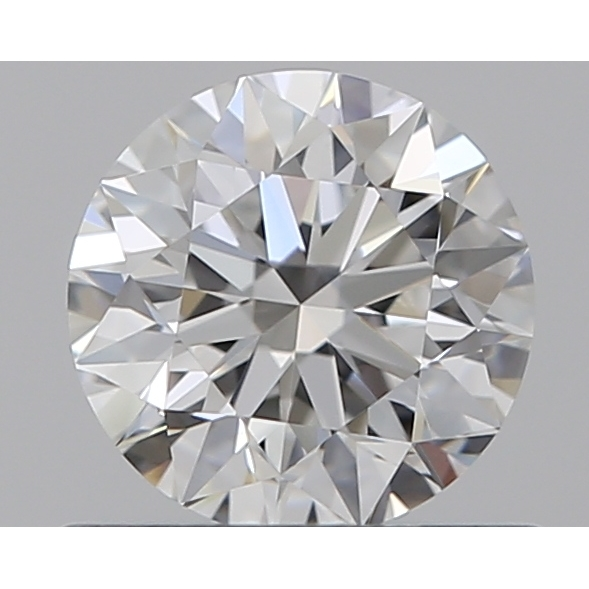 0.55 Carat Round Loose Diamond, F, IF, Super Ideal, GIA Certified