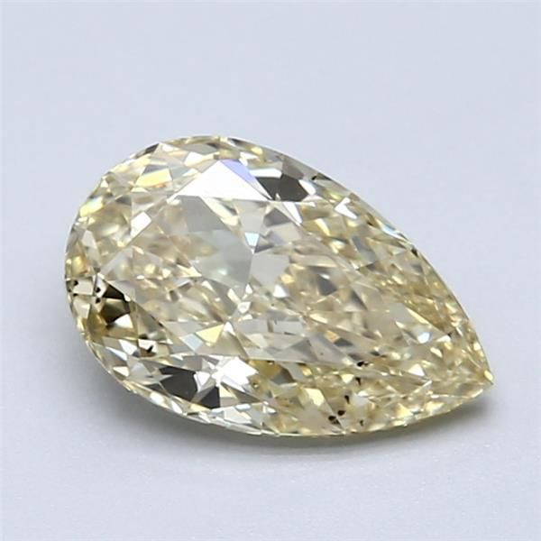 1.23 Carat Pear Loose Diamond, FBY FBY, SI1, Super Ideal, GIA Certified