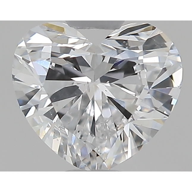 0.50 Carat Heart Loose Diamond, D, SI1, Excellent, GIA Certified