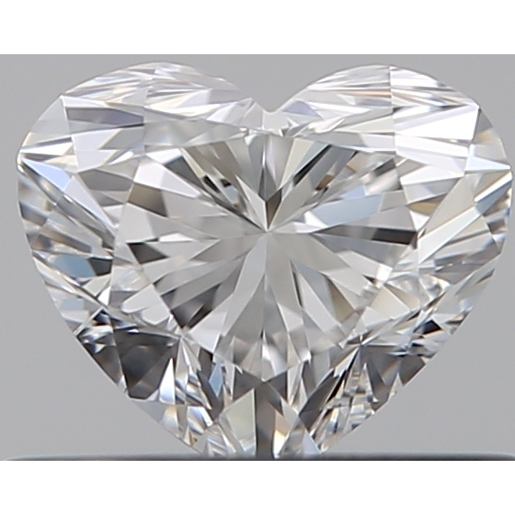 0.41 Carat Heart Loose Diamond, E, VS1, Super Ideal, GIA Certified