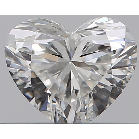 0.32 Carat Heart Loose Diamond, H, VVS1, Super Ideal, GIA Certified