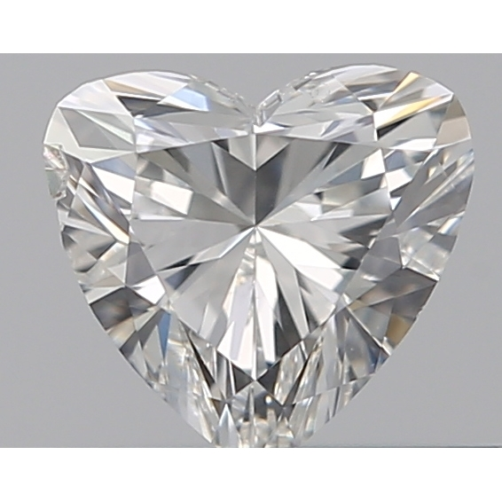 0.31 Carat Heart Loose Diamond, G, SI2, Ideal, GIA Certified