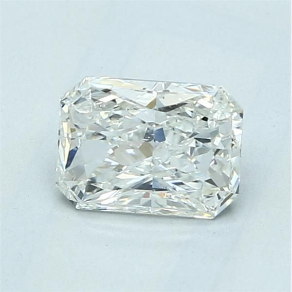 0.93 Carat Radiant Loose Diamond, H, SI2, Excellent, GIA Certified