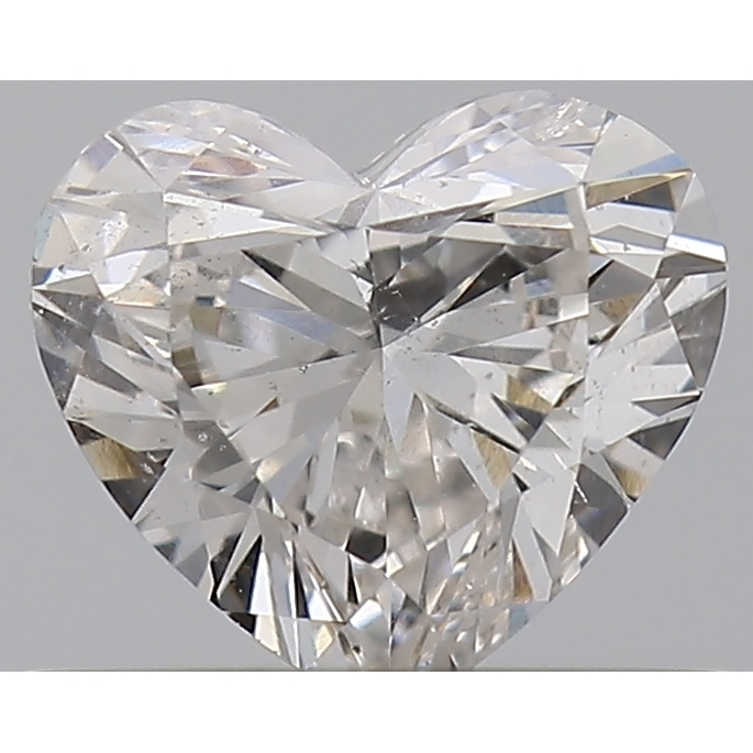 0.40 Carat Heart Loose Diamond, G, SI1, Ideal, GIA Certified