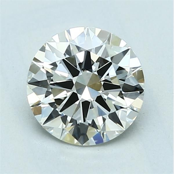 1.30 Carat Round Loose Diamond, J, IF, Excellent, GIA Certified