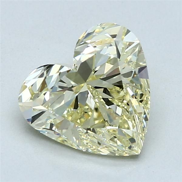 2.04 Carat Heart Loose Diamond, FLY FLY, VS1, Ideal, GIA Certified