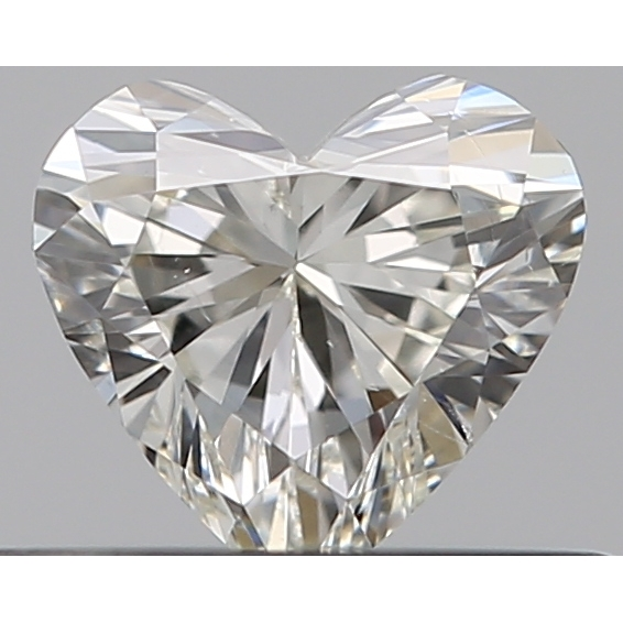 0.30 Carat Heart Loose Diamond, K, SI1, Excellent, GIA Certified