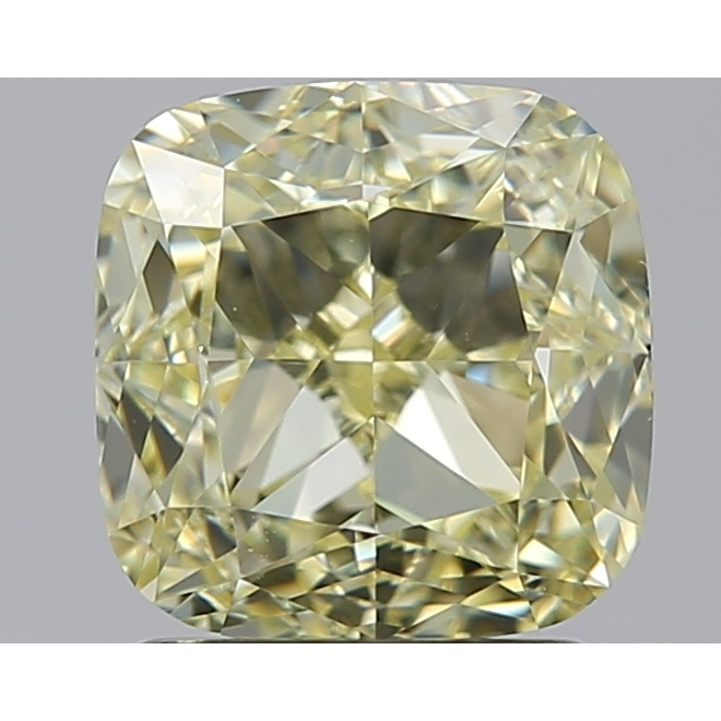 2.00 Carat Cushion Loose Diamond, FANCY, VS1, Excellent, GIA Certified
