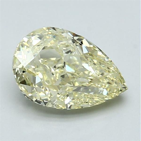 1.50 Carat Pear Loose Diamond, FLY FLY, VS1, Excellent, GIA Certified