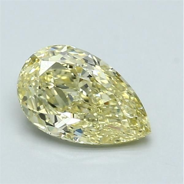0.91 Carat Pear Loose Diamond, FY FY, VS2, Ideal, GIA Certified