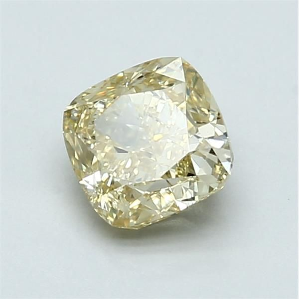 1.08 Carat Cushion Loose Diamond, FBY FBY, VS1, Excellent, GIA Certified