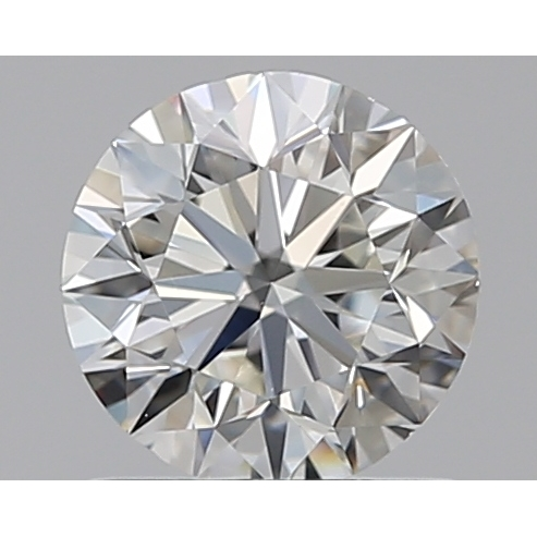 0.90 Carat Round Loose Diamond, H, VS1, Excellent, GIA Certified
