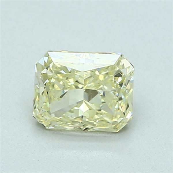 1.01 Carat Radiant Loose Diamond, FY FY, VS2, Ideal, GIA Certified