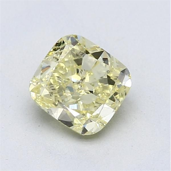 1.07 Carat Cushion Loose Diamond, FY FY, SI2, Very Good, GIA Certified