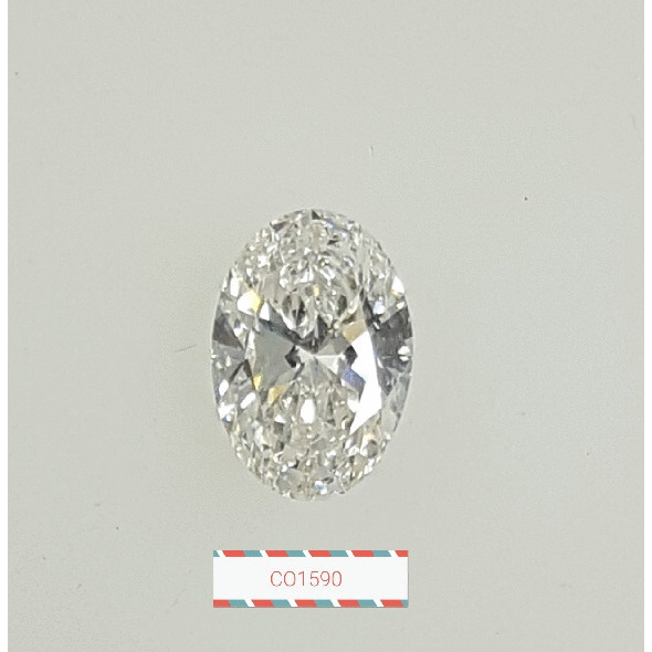 1.01 Carat Oval Loose Diamond, H, VS2, Ideal, GIA Certified | Thumbnail