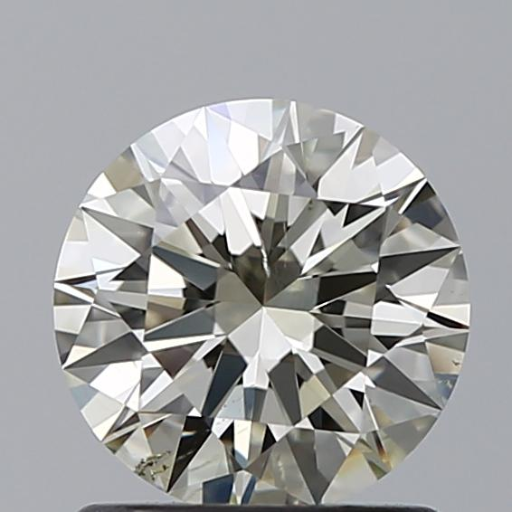 1.00 Carat Round Loose Diamond, N, SI1, Super Ideal, GIA Certified