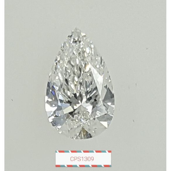 1.00 Carat Pear Loose Diamond, G, SI1, Super Ideal, GIA Certified | Thumbnail
