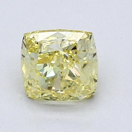 1.00 Carat Cushion Loose Diamond, FIY FIY, SI1, Excellent, GIA Certified