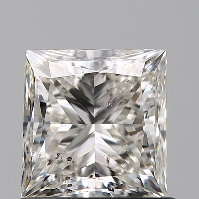 0.90 Carat Princess Loose Diamond, K, SI2, Ideal, GIA Certified