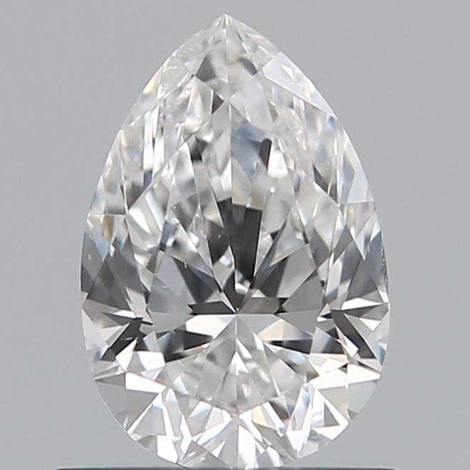 0.70 Carat Pear Loose Diamond, D, VS2, Ideal, GIA Certified