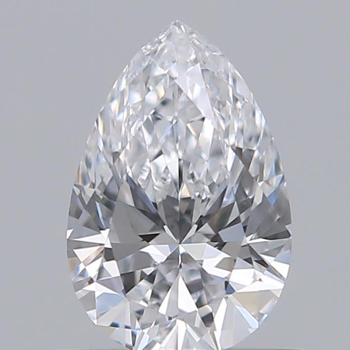 0.56 Carat Pear Loose Diamond, D, SI1, Super Ideal, GIA Certified | Thumbnail