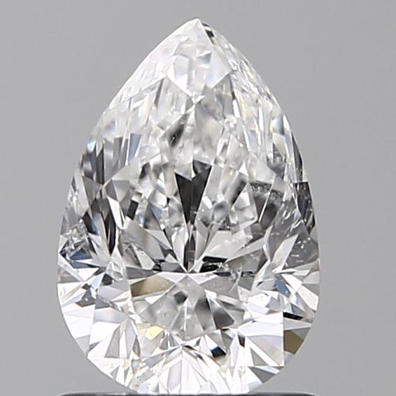 1.00 Carat Pear Loose Diamond, E, SI2, Excellent, GIA Certified