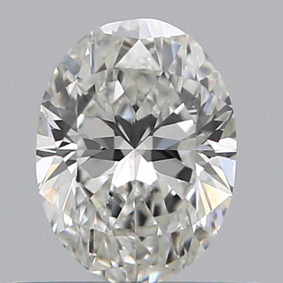 0.50 Carat Oval Loose Diamond, G, VS2, Ideal, GIA Certified | Thumbnail