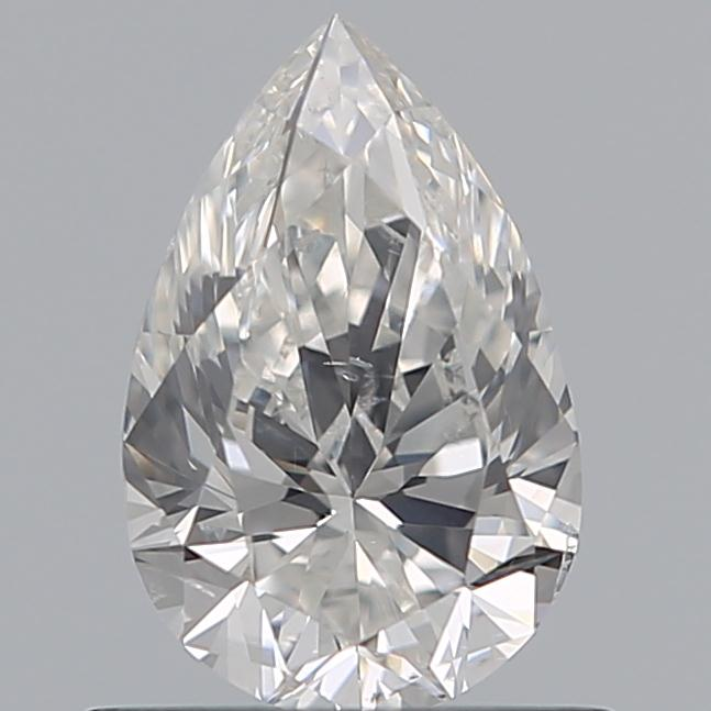 0.70 Carat Pear Loose Diamond, G, SI2, Super Ideal, GIA Certified