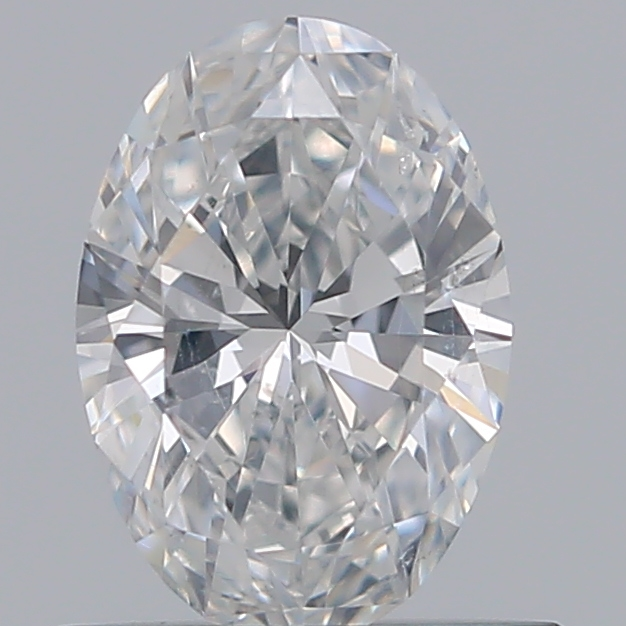 0.53 Carat Oval Loose Diamond, F, SI1, Super Ideal, GIA Certified