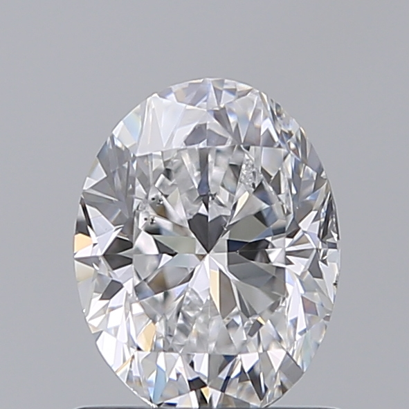 1.00 Carat Oval Loose Diamond, D, VS2, Excellent, GIA Certified