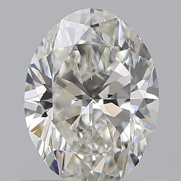 0.50 Carat Oval Loose Diamond, H, VS1, Super Ideal, GIA Certified | Thumbnail