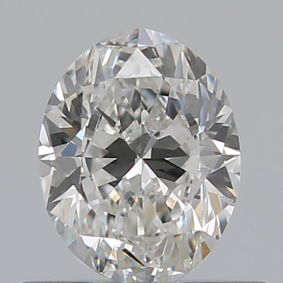 0.50 Carat Oval Loose Diamond, G, VS2, Excellent, GIA Certified