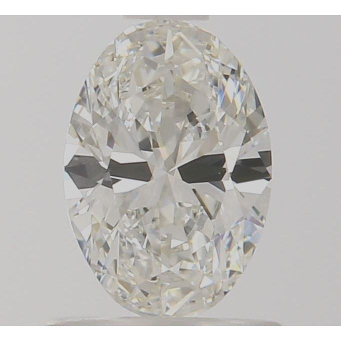 0.71 Carat Oval Loose Diamond, I, VVS2, Super Ideal, GIA Certified