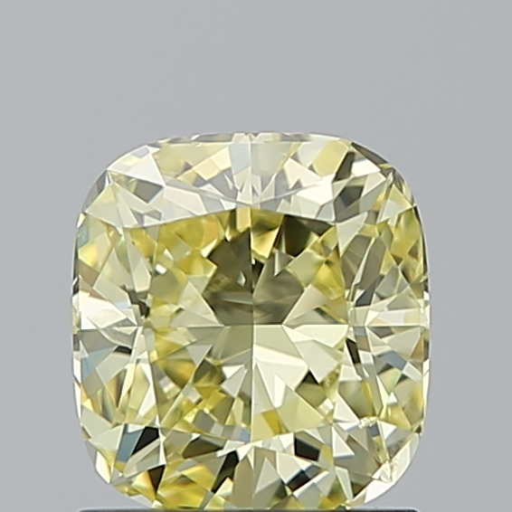 1.00 Carat Cushion Loose Diamond, FANCY, I1, Super Ideal, GIA Certified