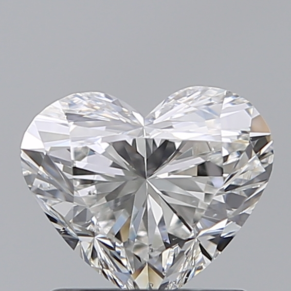 1.00 Carat Heart Loose Diamond, F, VS2, Super Ideal, GIA Certified | Thumbnail