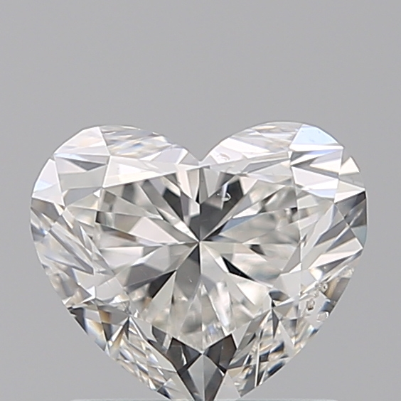1.00 Carat Heart Loose Diamond, G, SI1, Super Ideal, GIA Certified