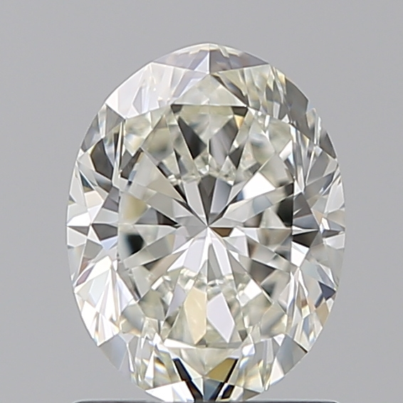 1.00 Carat Oval Loose Diamond, I, VVS2, Ideal, GIA Certified