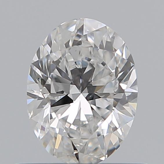 0.50 Carat Oval Loose Diamond, E, SI2, Ideal, GIA Certified