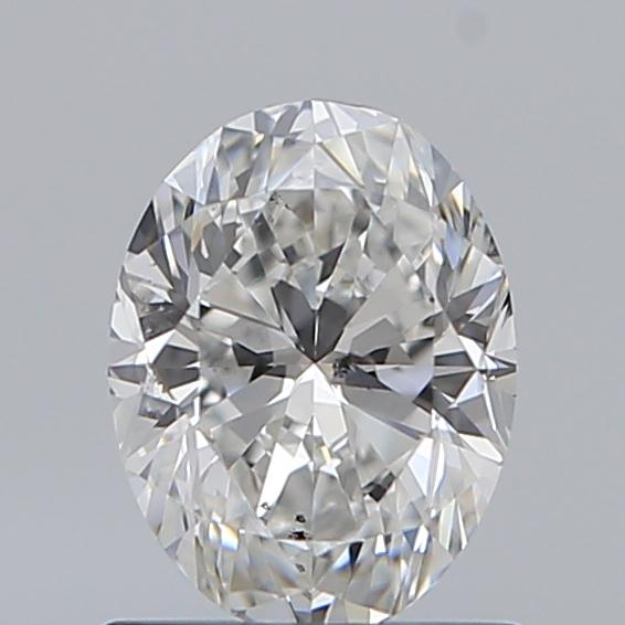 0.90 Carat Oval Loose Diamond, F, SI2, Excellent, GIA Certified
