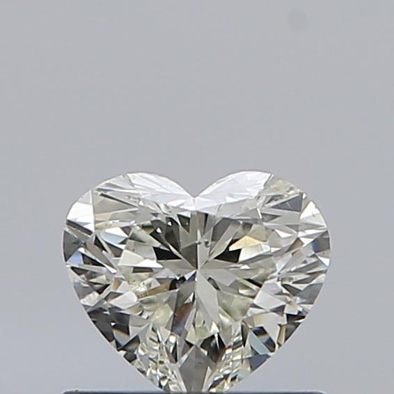 0.51 Carat Heart Loose Diamond, L, SI1, Super Ideal, GIA Certified