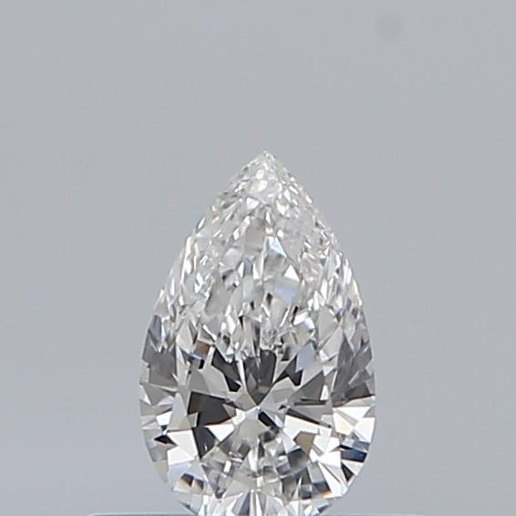 0.32 Carat Pear Loose Diamond, E, SI2, Excellent, GIA Certified