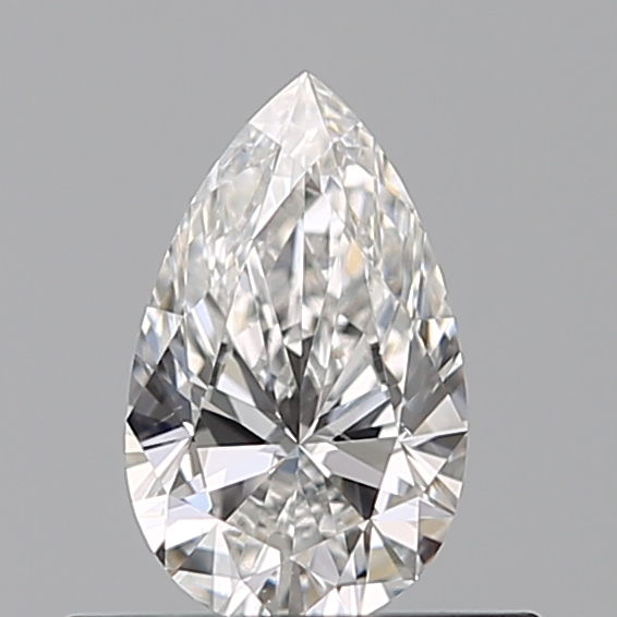 0.33 Carat Pear Loose Diamond, F, VS2, Super Ideal, GIA Certified | Thumbnail
