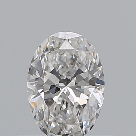 0.35 Carat Oval Loose Diamond, E, SI2, Super Ideal, GIA Certified